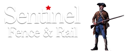 Sentinel Fence and Rail Logo