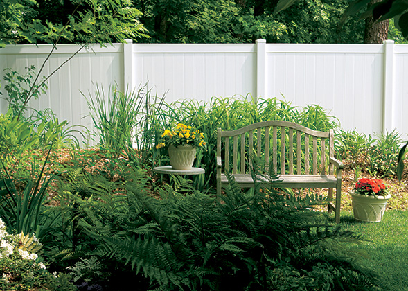 Sentinel Fence Vinyl Privacy